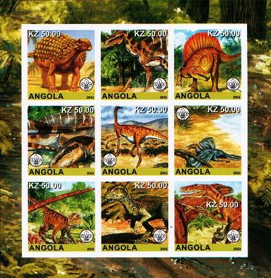 Angola Dino Imperf