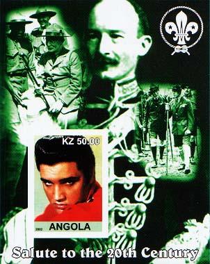 Angola Elvis Imperf