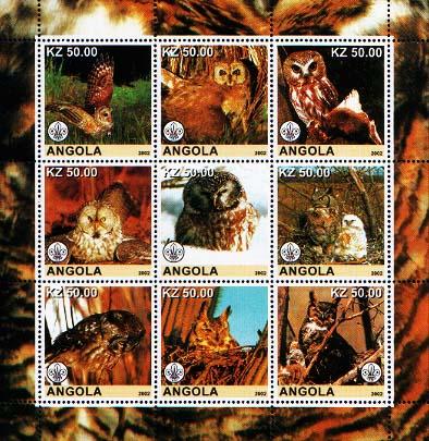 Angola Owls