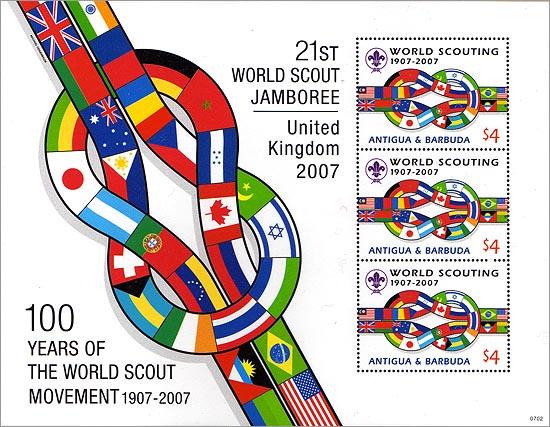Antigua Barbuda 100 Years of Scouting