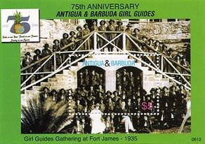 Antigua Barbuda 75th Girl Guide B