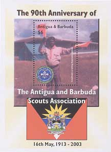 Antigua Barbuda 90th 6