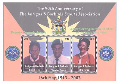 Antigua Barbuda 90th ss