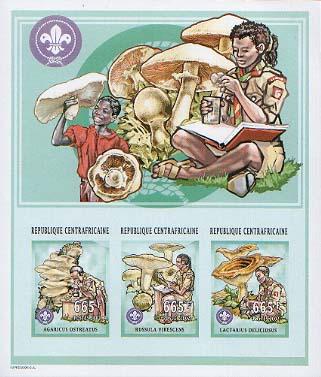 Central Africa Mushroom Imperf