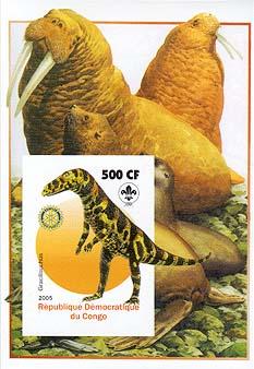 Congo Pre-historic Animal Imperf