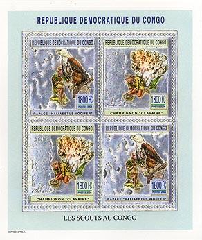 Congo Fungi & Bird Silver