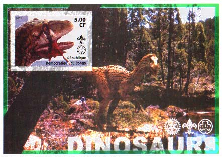 Congo Dino 6 Imperf