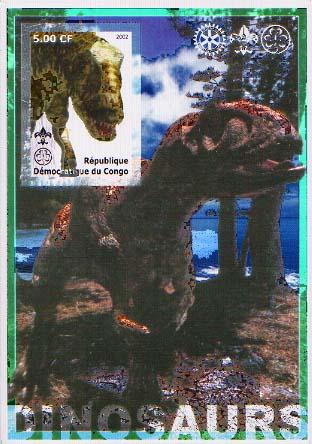 Congo Dino 7 Imperf