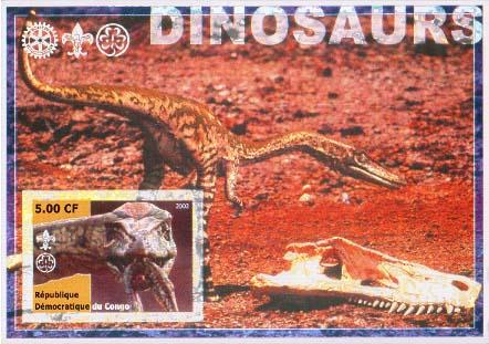 Congo Dino 8 Imperf