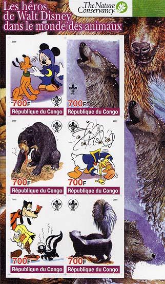 Congo Walt Disney Imperf