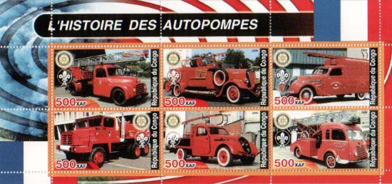 Congo Historic Fire Truck B