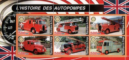 Congo Historic Fire Truck C