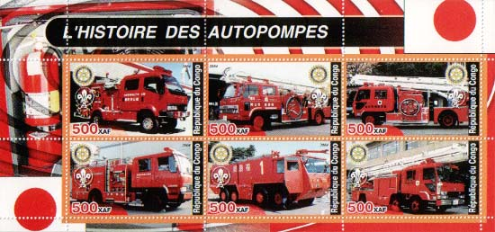 Congo Historic Fire Truck D