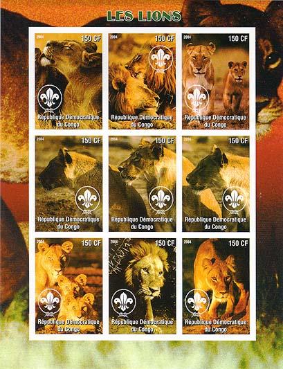 Congo Lion Imperf