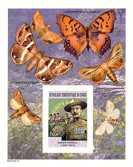 Congo Butterflies Imperf