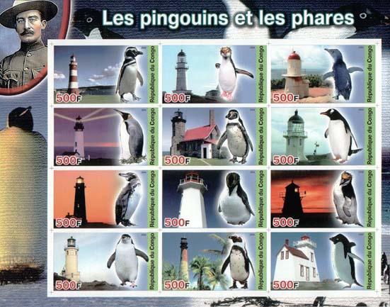 Congo Penguin 500 Imperf