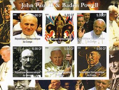 Congo Baden-Powell Pope